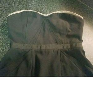 BCBGMAXAZRIA Strapless Dress w. pockets